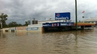 Domino's Pizza during Chinchilla's 2010-2011 Floods
