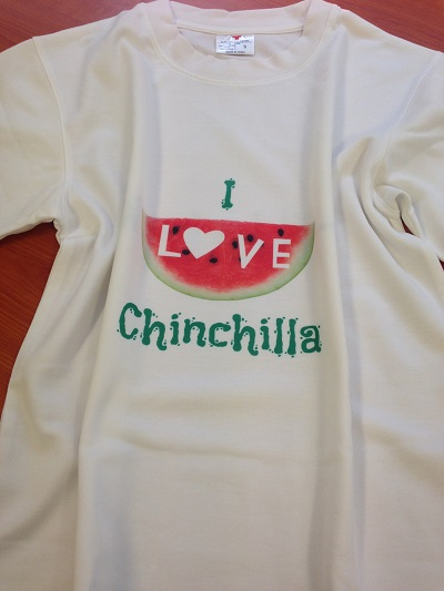 I Love Chinchilla T-Shirt